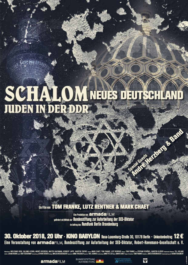 Schalom neues Deutschland - Juden in der DDR | Dokumentarfilm