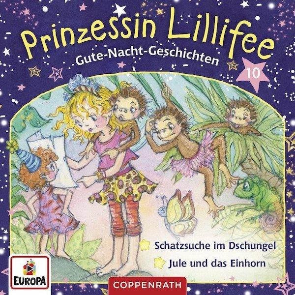 Gute-Nacht-Geschichten mit Prinzessin Lillifee CD 10