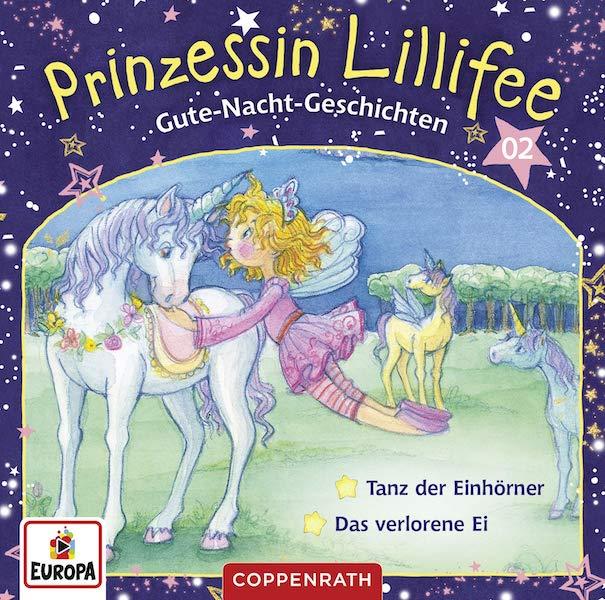 Gute-Nacht-Geschichten mit Prinzessin Lillifee CD 2