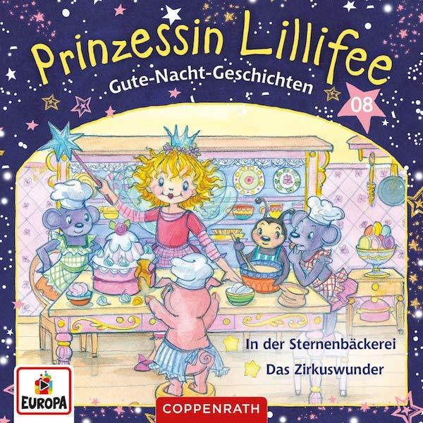 Gute-Nacht-Geschichten mit Prinzessin Lillifee CD 8