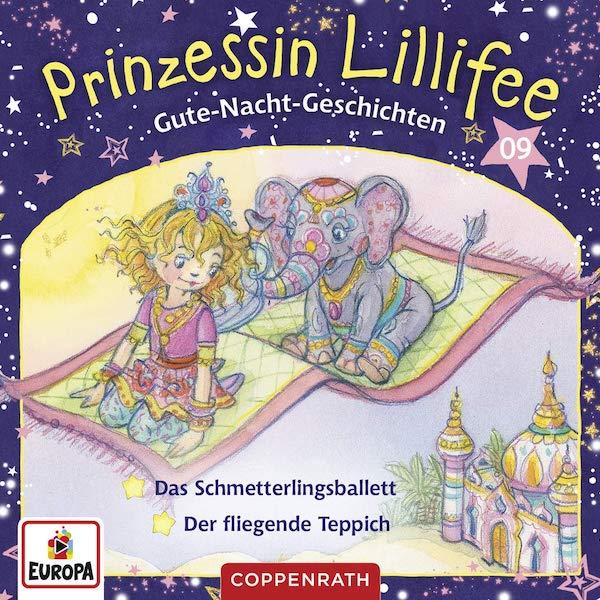 Gute-Nacht-Geschichten mit Prinzessin Lillifee CD 9